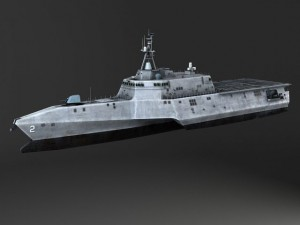 USS Independence LCS2 battle ship