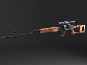SWD Dragunov Sniper Rifle