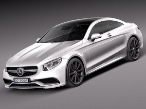 Mercedes Benz S63 AMG Coupe 2015