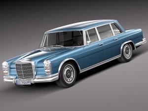 Mercedes Benz 600 w100 1963 to 1981