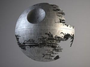 Star Wars Death Star Destroyed