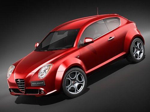 Alfa Romeo Mi.To 3D Model