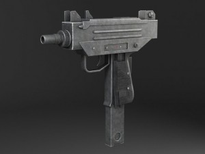 Uzi Pistol Submachine Gun