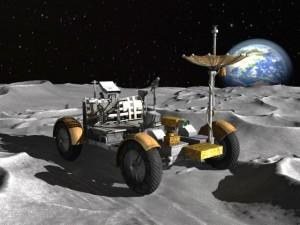 Apollo Lunar Rover Moon Car