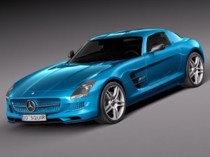 Mercedes SLS AMG Coupe Electric Drive 2014