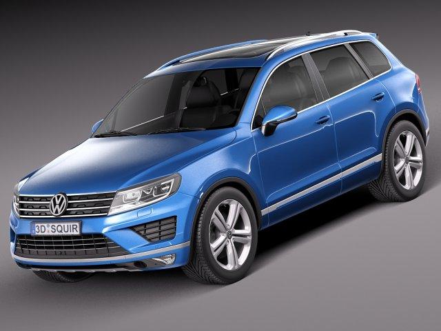 Volkswagen Touareg 2015 3D Model