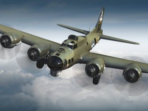 Boeing B17 Super Fortress Bomber