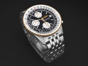Breitling Navitimer II steel braclet mens watch
