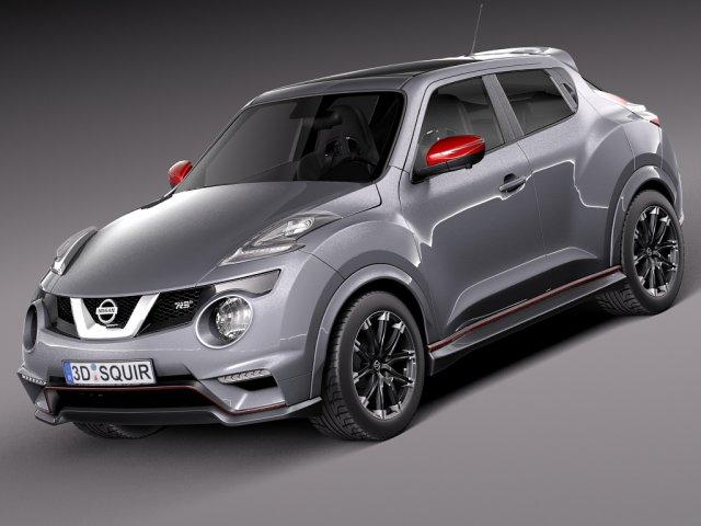 Nissan Juke Nismo Rs 2015 3d Model In Sport Cars 3dexport