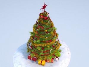 Christmas Tree High Detailed
