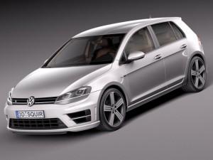 Volkswagen Golf VII R 5door 2015