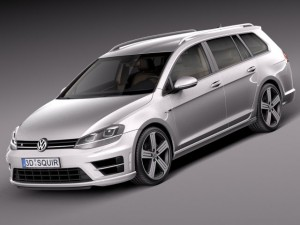 Volkswagen Golf VII R Variant 2015