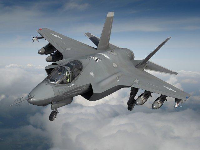 Lockheed Martin F35 Lightning II 3D Model