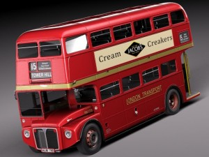 Routemaster London Double Decker Bus