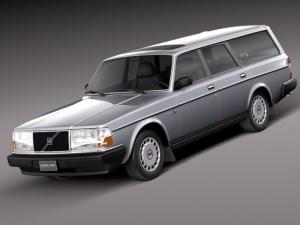 Volvo 240 Estate EU 1993