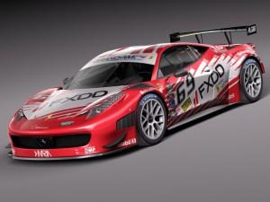 Ferrari 458 GT3 Race Car 2014