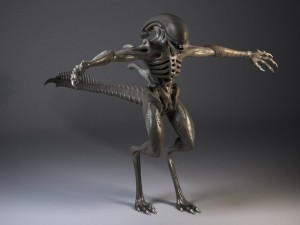 Alien Xenomorph Rigged