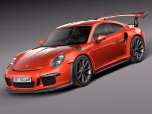 Porsche 911 GT3RS 2016