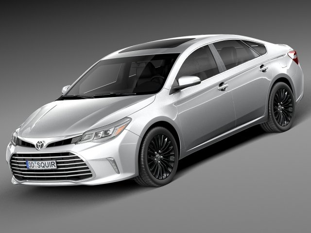 Toyota Avalon 2016 3D Model