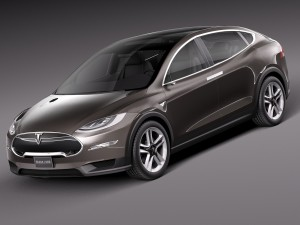 Tesla Model X Prototype 2012