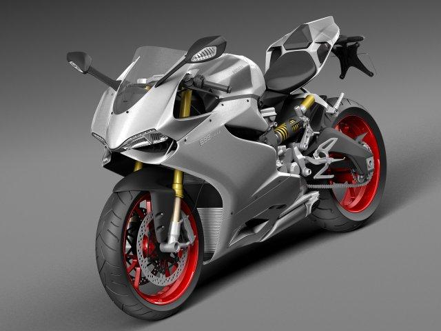 Ducati 899 Panigale 2015 3D Model