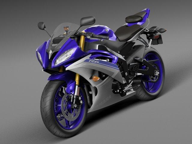 Yamaha YFZ-R6 2015 3D Model