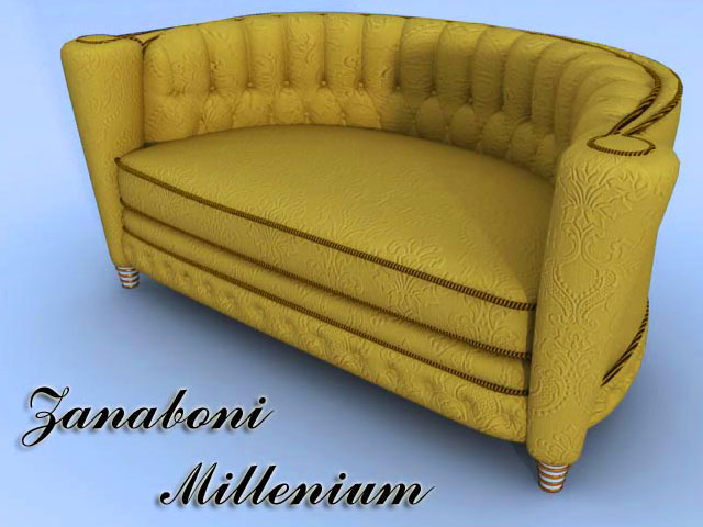 Zanaboni Millenium 3D Model