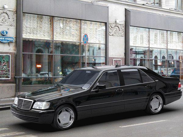 Mercedes S600 W140 3d Model In Sport Cars 3dexport