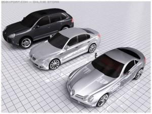 Porshe Cayenne BMW M5 Mercedes
