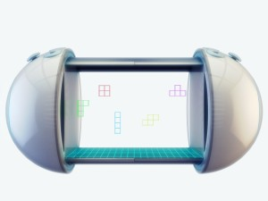 3d console concept device