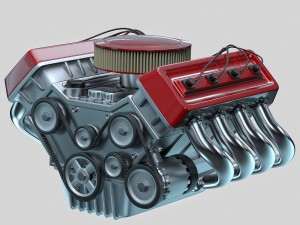Car engine - Animated