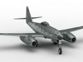 Jet plane me262 3D Model