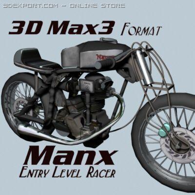 Manx 3D Model