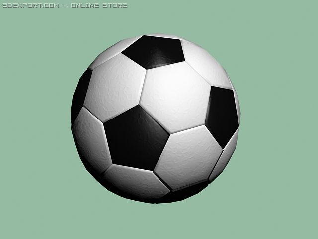 Football ball(model1) 3D Model