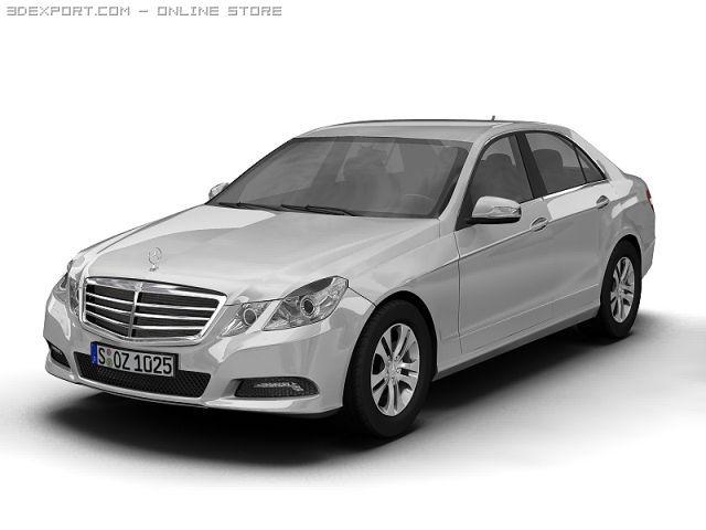 2010 Mercedes Benz EClass 3D Model