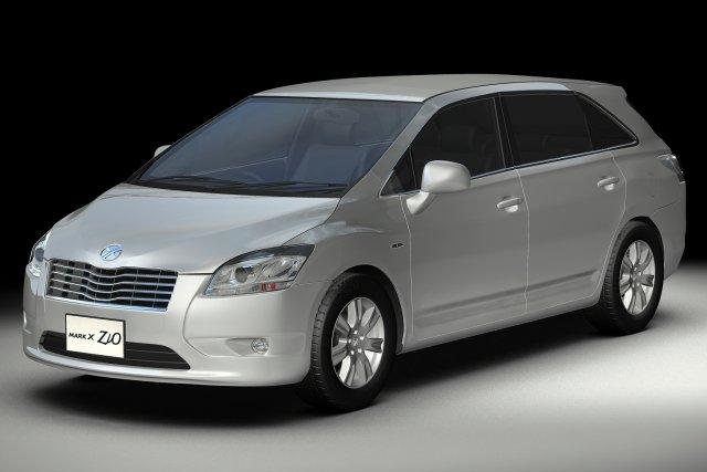 2008 Toyota Mark X Zio 3D Model
