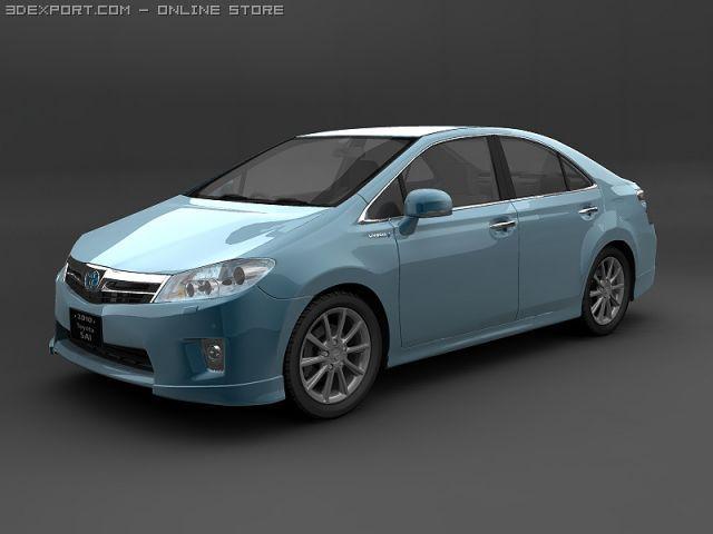 2010 Toyota SAI Hybrid 3D Model
