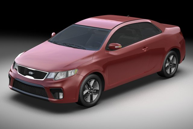 2010 Kia Forte Koup 3D Model