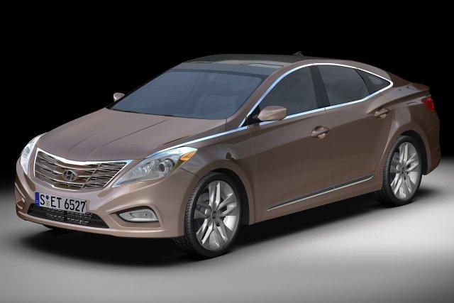 2012 Hyundai Azera 3D Model