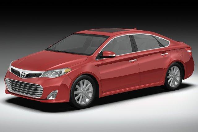 2013 Toyota Avalon 3D Model