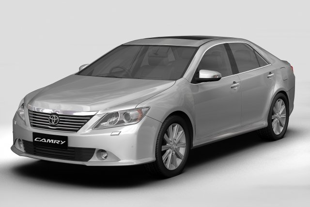Toyota Camry Asian 2012 3D Model