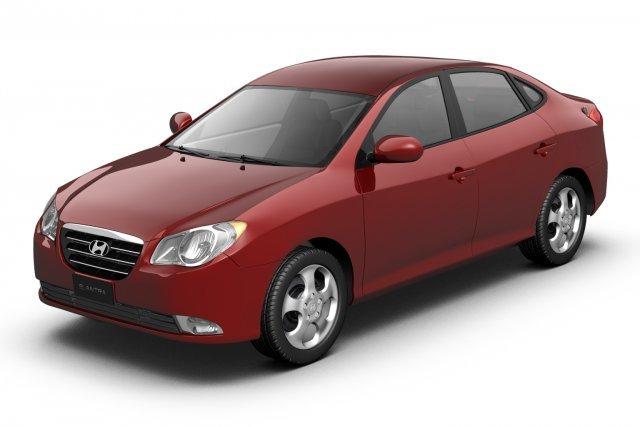 2007 Hyundai Elantra Avante 3D Model