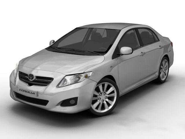 2008 Toyota Corolla 3D Model