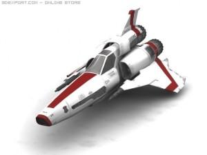 BS Galactica Viper MK II