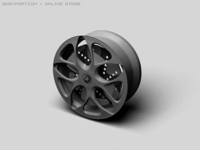 Speed Rim 3D Model