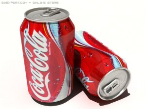 CocaCola Tin