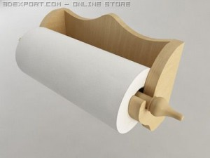 Wallmounted Paper Towel Holder