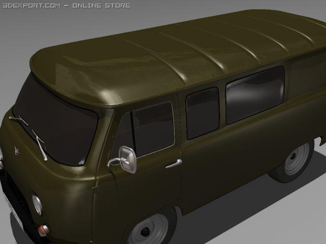 UAZ3909 3D Model