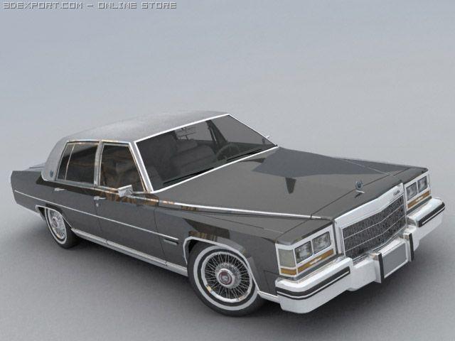 Cadillac Fleetwood Brougham 3D Model in Sport Cars 3DExport