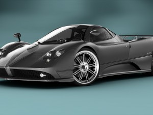 Delightful Pagani Zonda F RIGGED 3D Model. Mickyboys. Sport Cars